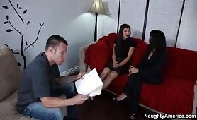 De l'entrevue a une video porno