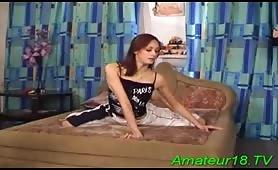 Lecon de sexe oral donne par la ballerine
